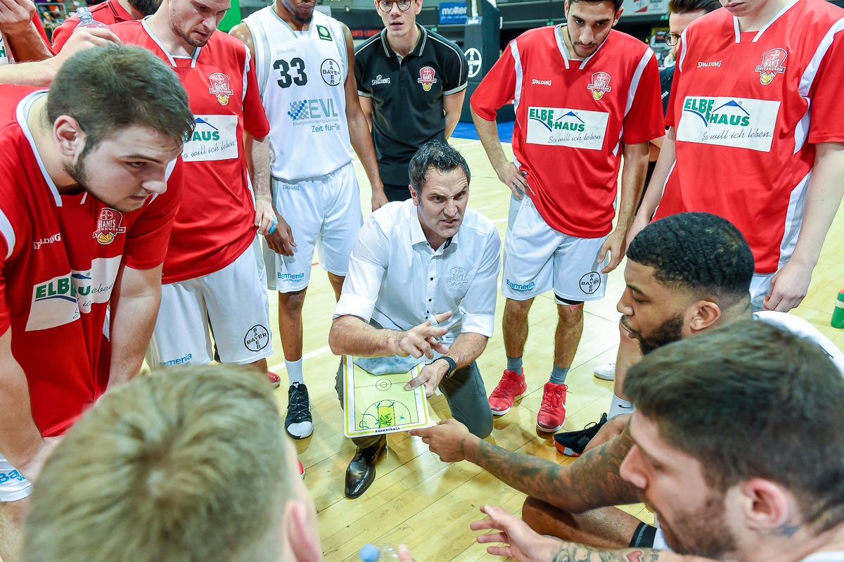 ProB: Bayer Giants Leverkusen vs. Dragons Rhöndorf