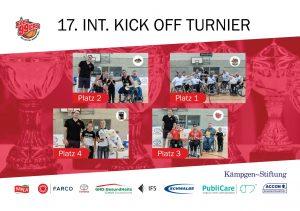 Kick Off Turnier 2019: Finale