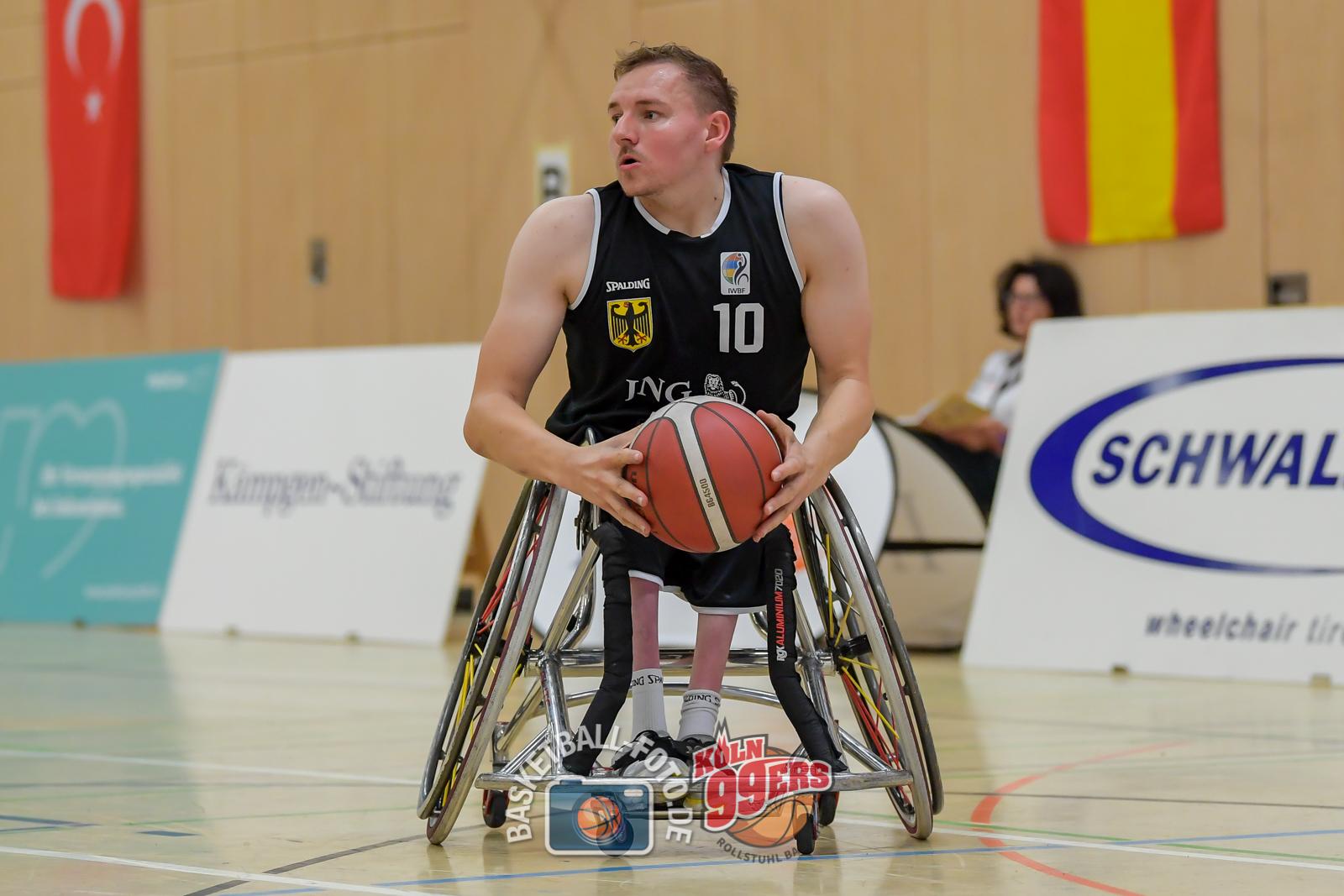 NCC 2021: 2021-07-23 Team Türkei vs Team Deutschland