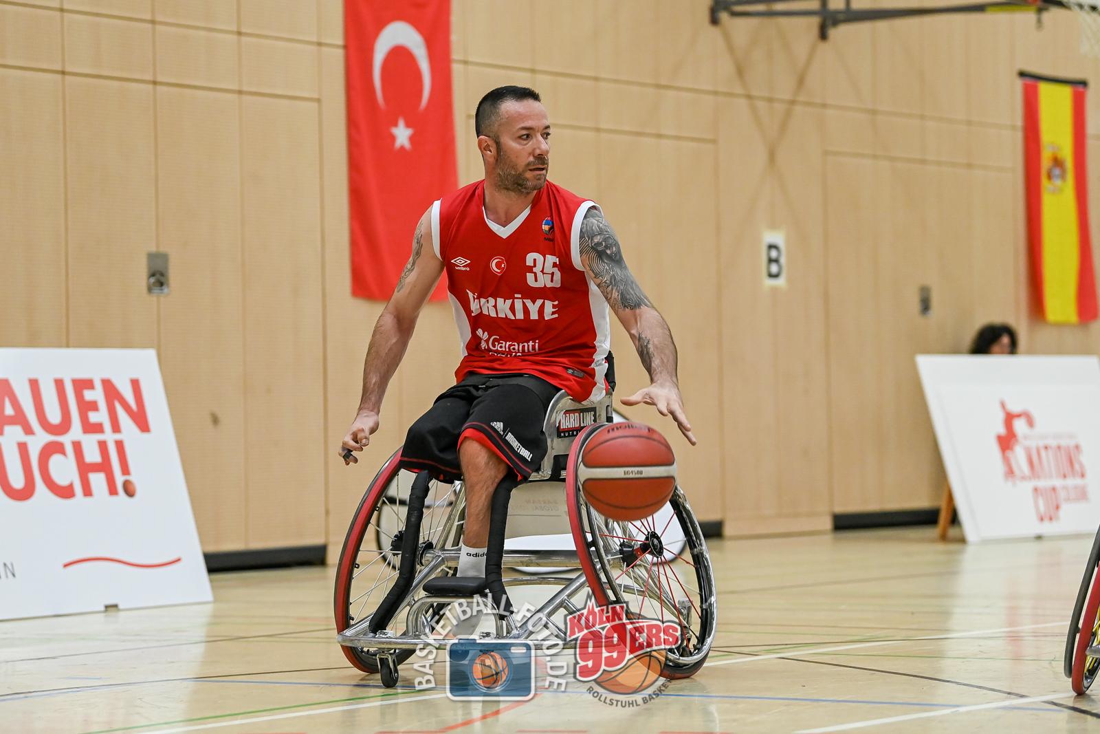NCC 2021: 2021-07-24 Team Deutschland vs Team Türkei