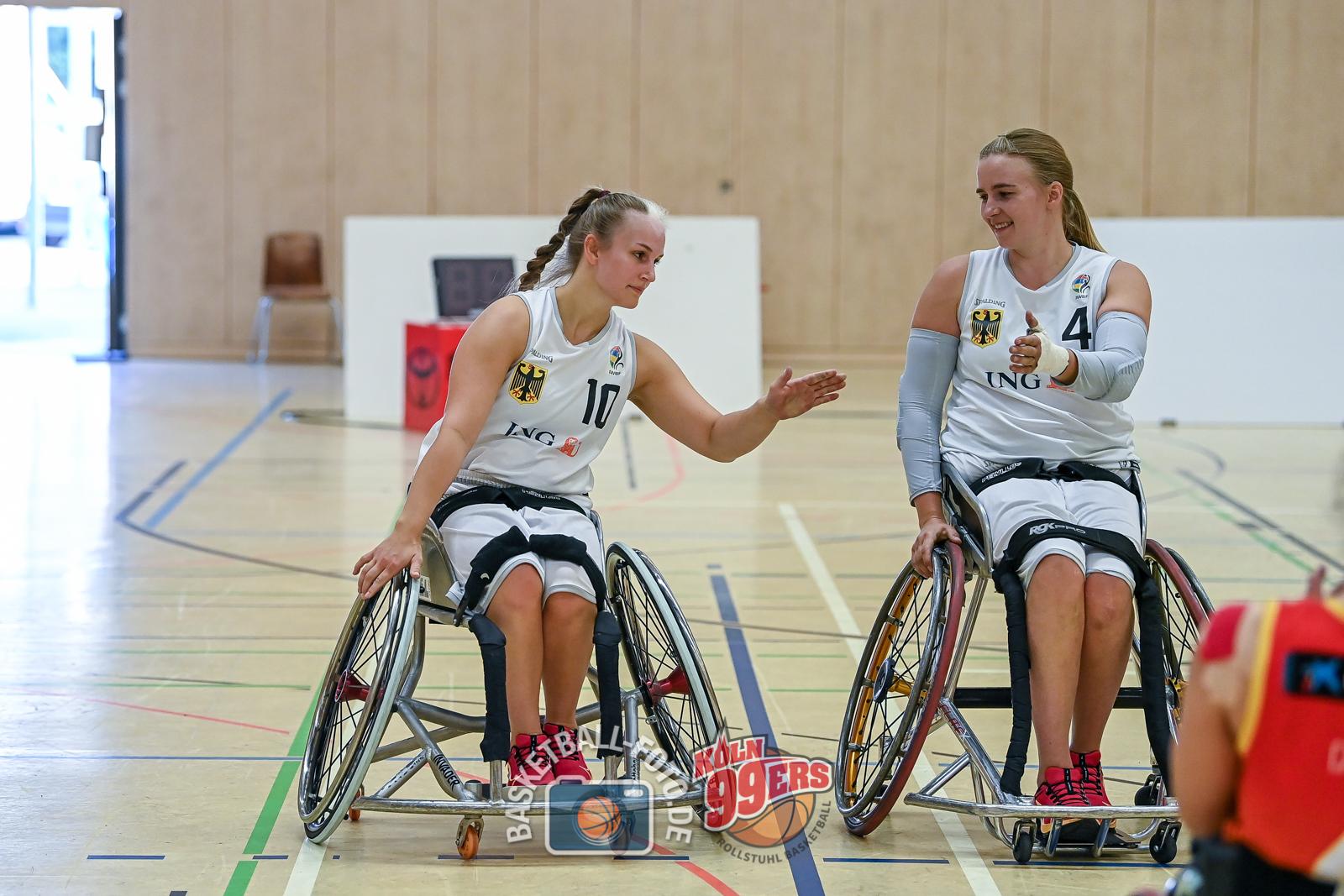 NCC 2021: 2021-07-22 Team Deutschland vs Team Spanien